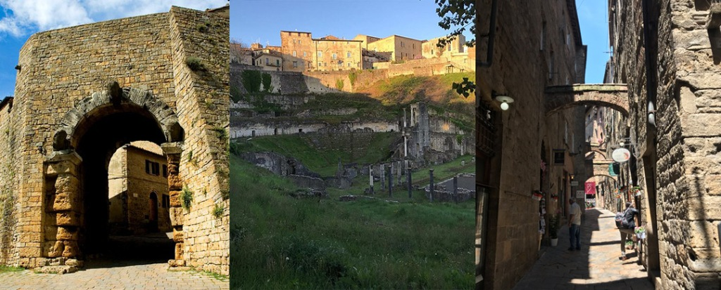 Three ages of Volterra